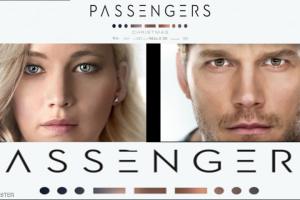 مخرج فيلم الخيال العلمي والرومانسي ( باسنجرز ) قلقاً من الكيمياء بين الممثلين الأمريكيين جنيفر لوران وكريس برات