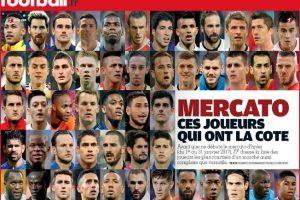 فرانس فوتبول: تتحدث عن أغلى 50 لاعب كرة قدم في العالم