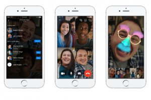 تحديث جديد لماسنجر الفسبوك يعمل على السماح بإجراء مكالمة فيديو مع ست اشخاص
