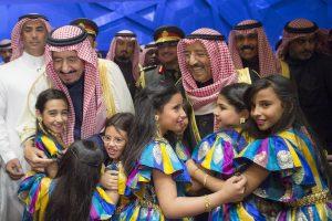 الملك سلمان يشارك في حفل مركز الشيخ جابر الثقافي