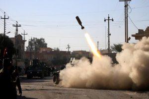 القوات العراقية تواصل تقدمها بالموصل وتسيطر علي مباني حكومية