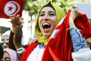 فعاليات بتونس مع ذكري ثورة الياسمين