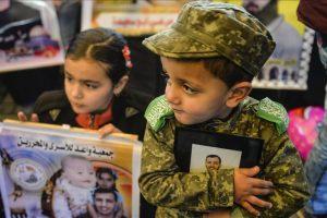 تواصل فعاليات غزة المنددة بممارسات إسرائيل ضد الأسري