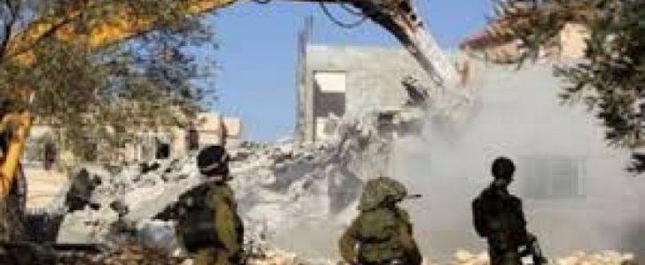 اليوم هدم منازل فلسطينية بالقدس وسط تقارير عند إعتداءات إسرائيلية يومية بحق القدس
