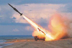 من جديد الحوثيين يقصفون السعودية بالبالستي و السعودية تنجح في إعتراض الصواريخ