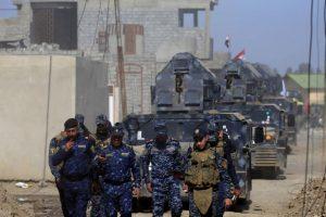 تقدم للقوات العراقية في الجانب الغربي من مدينة الموصل وسط مقاومة عنيفة لتنظيم الدولة