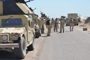 تقدم للقوات العراقية في محيط مطار الموصل في إطار استعادة المدينة من تنظيم الدولة