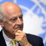 تواصل لقاءات دي ميستورا مع أطراف النزاع السوري وسط حالة من التشاؤم حول تحقيق نتائج إيجابية