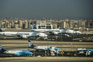 مطار القاهرة يستقبل أولى الرحلات القادمة من الخطوط الايطالية