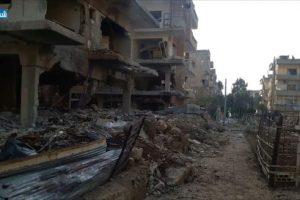 استمرار القصف الروسي على مدينة درعا بالتزامن مع الإشتباكات بين المعارضة والنظام السوري