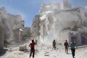 النظام السوري يصعد من غاراته وقصفه لمختلف المناطق الخاضعة للمعارضة السورية