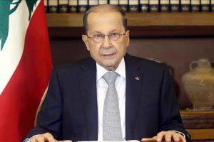 الرئيس اللبناني ميشال عون في القاهرة في زيارة رسمية