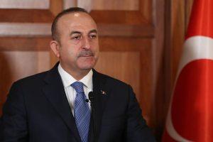 وزير الخارجية التركي جاويش أوغلو ينتقد تصريحات نظيره اليوناني خلال حديثه لوكالة لأناضول