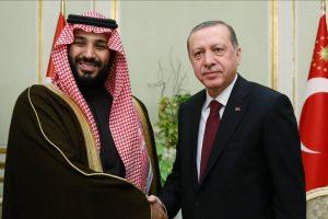 قطر محطة أردوغان بعد السعودية واستقبل الأمير محمد بن سلمان اليوم .