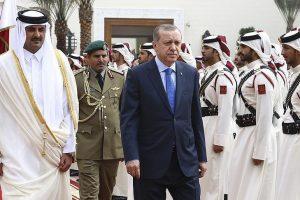 أردوغان في قطر في ختام جولته الخليجية التي شملت البحرين والسعودية