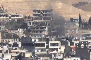 المعارضة توقع عشرات القتلى والجرحى بصفوف قوات النظام السوري بالعاصمة دمشق