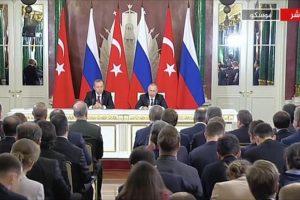 القمة التركية الروسية تركز على تعزيز أوجه التعاون بين البلدين وتفاهمات حول الأزمة السورية