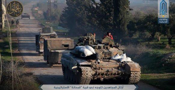 تراجع للمعارضة السورية في العاصمة دمشق بينما تواصل تقدمها في جبهة حماة