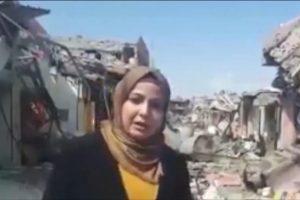 توجيهات أمنية عراقية تمنع دخول بسمة بسيم إلى الشطر الأيمن من مدينة الموصل
