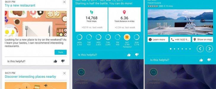 اتاحة تطبيق Sense Companion للهاتف HTC U Ultra للتحميل عبر قوقل بلاي