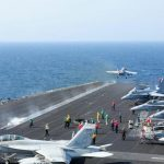 اتهامات أمريكية لإيران لقيامها بالإحتكاك بالسفن الأمريكية في مضيق هرمز