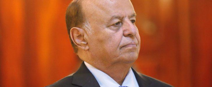 الرئيس اليمني يسافر إلى الولايات المتحدة الأمريكية للعلاج