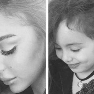 تداول صور ابنة تامر حسني بعد طول اختفاء على السوشيال ميديا