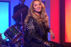 الفنانة زينة في أول أغنية باللهجة المصرية