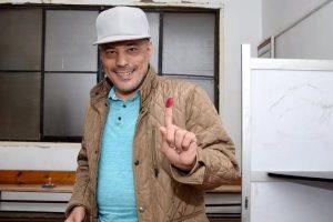 عمرو عبد الجليل يُدلي بصوته في الاستفتاء على التعديلات الدستورية